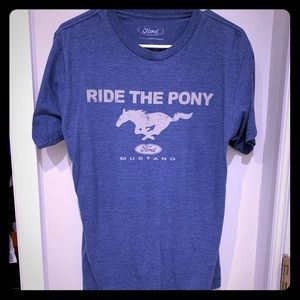 $4 Tee Ford Mustang Pony Men's M